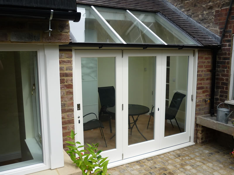 Small Bifold Patio Doors Thornton Road Aluminium Bi Fold